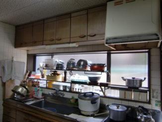 キッチンリフォーム(静岡県東部)施工前2