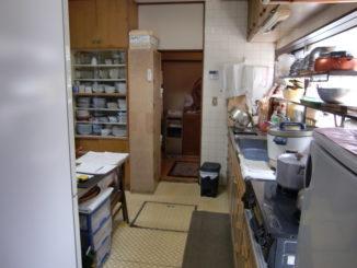 キッチンリフォーム(静岡県東部)施工前3