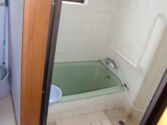 静岡県三島市、浴室リフォーム 施工前