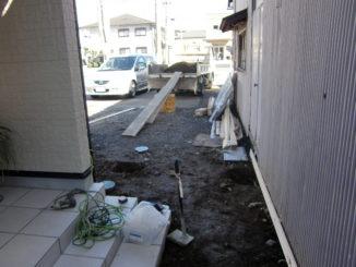 静岡県、外構・造園・エクステリア(施工前2)
