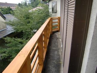 静岡県、ウッドデッキ(施工後2)