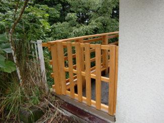静岡県、ウッドデッキ(施工後)