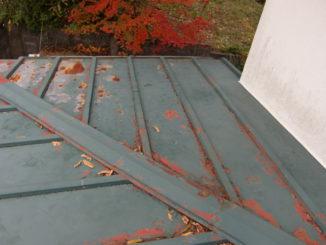 屋根塗装 静岡県(施工前)